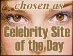 Celebrity Site of the Day for the June 2 2001